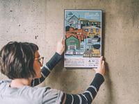 Monticello Park Poster