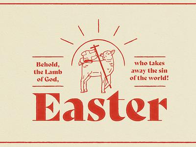 Easter illustration church jesus lamb sermon series easter
