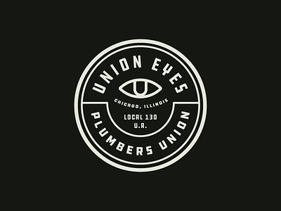 Union Eyes chicago cubs logo badge branding eye eyes