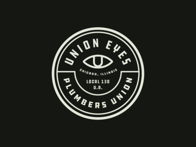 Union Eyes chicago cubs logo badge branding eye eyes