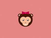 Cute Monkey Lady