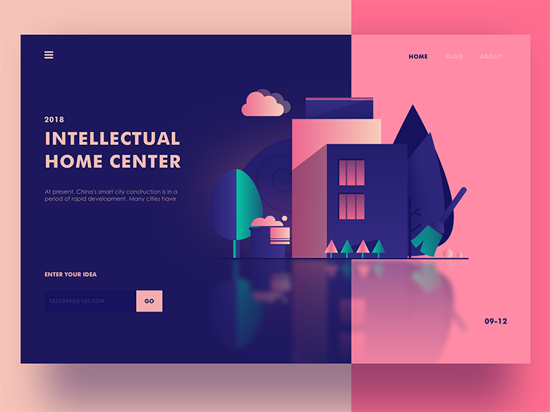 A Romanticism Home Center By 熊大渔夫 For Hiwow On Dribbble