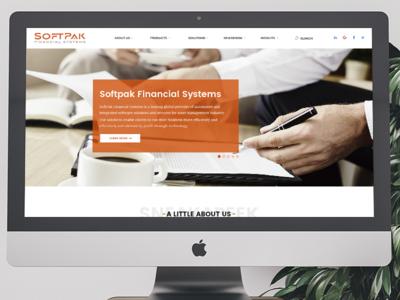 Softpak Financial Systems Website Revamp