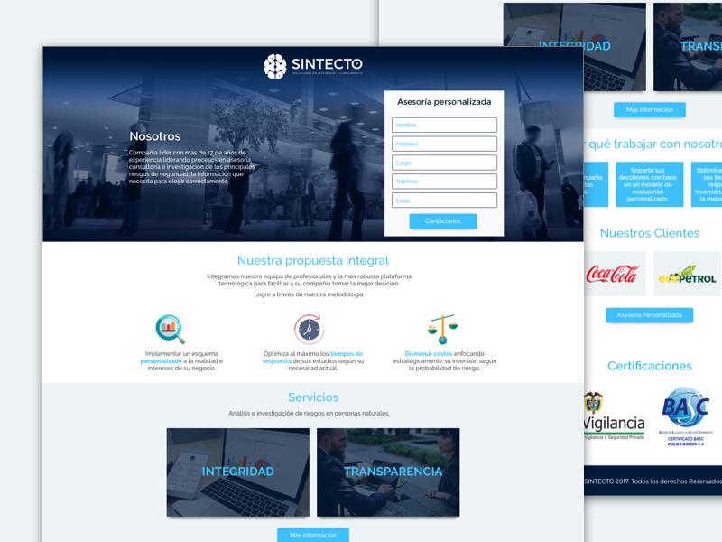 Lp Performance Leads design leads ui web landing-page