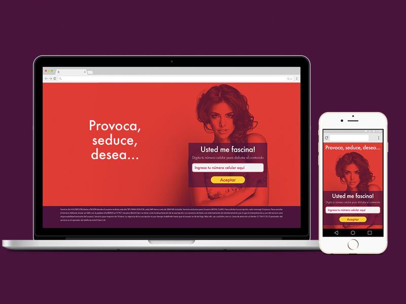 Lp responsive - Love typography login color responsive mobile web landing