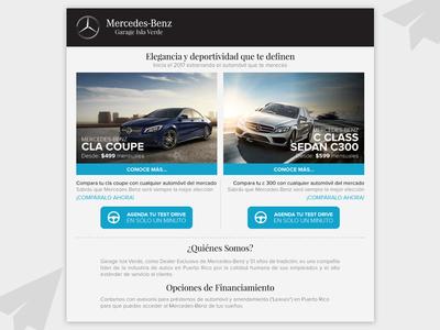 Mercedes Benz - Mailing HTML