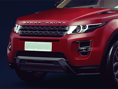 Range Rover CGI