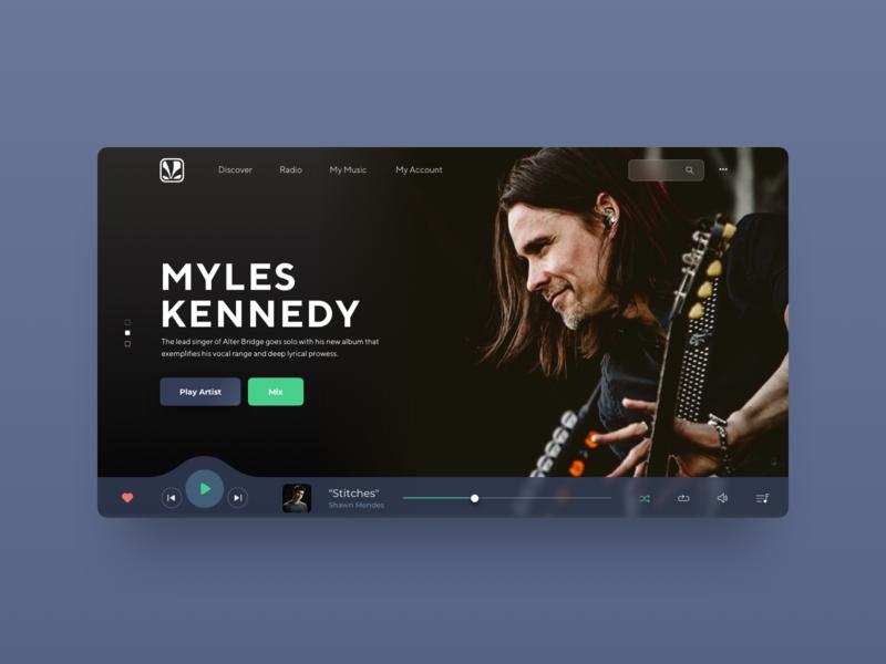 Saavn Music Service Reimagined #2 musicplayer website ux ui sketch app saavn reimagine redesign design