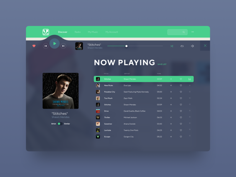 Saavn Music Service Reimagined #4 website ux ui sketch app saavn reimagine redesign music player now playing
