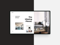 The Missing Pieces Website Design