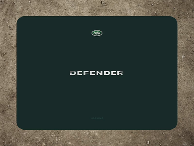 DailyUI 03 - Defender Landing page animation ui design ui prototype landing page dailyui 003 dailyui