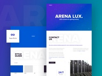 Redeveloped corporate style for a factory ARENAlux
