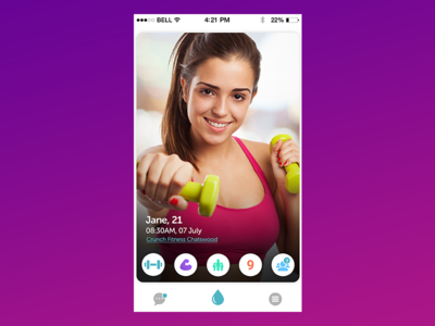Home for Fitness Dating App
