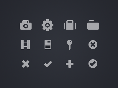 Icons redesign