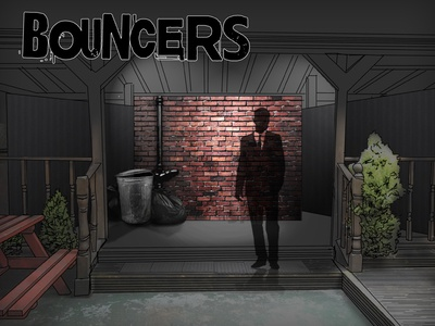 Bouncers Set Design Mock-up
