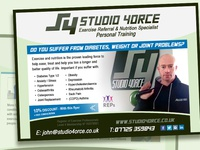 STUDIO 4ORCE Flyer