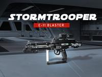Stormtrooper Blaster Model