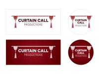 Curtain Call Productions Logo