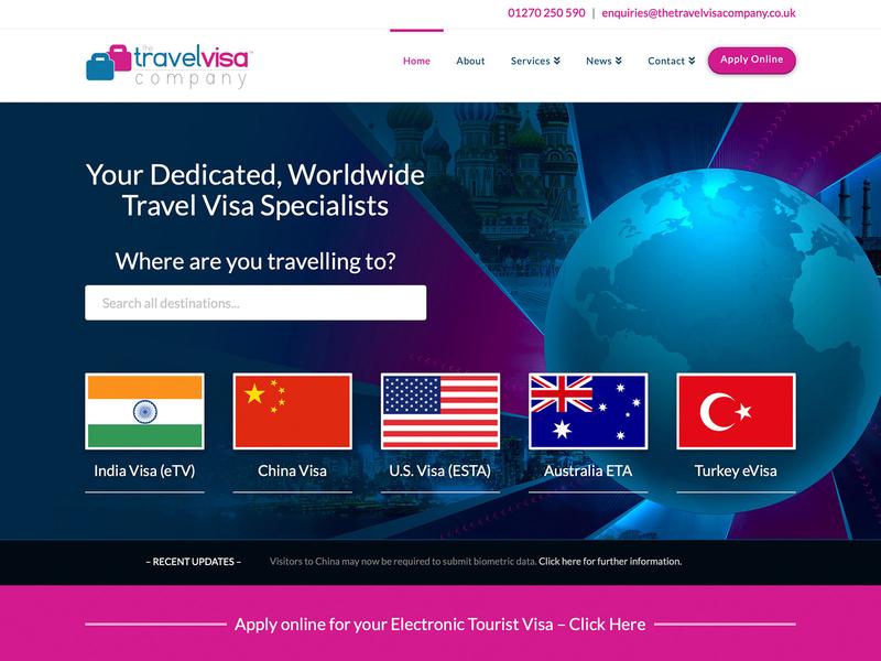 Travel Visa Website Design travel visa search responsive webdesign globe travel website