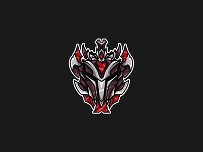 League of Legends | Rank Icon | Grandmaster grandmaster division rank riot games esports vector illustration league of legends