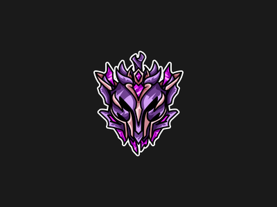 League of Legends | Rank Icon | Master master division rank riot games esports vector illustration league of legends