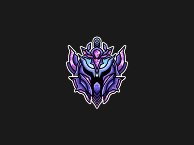 League of Legends | Rank Icon | Diamond diamond division rank riot games esports vector illustration league of legends