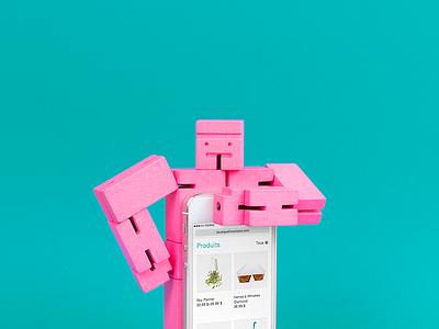 Boutique L'inventaire — mobile snapshot wordpress white grid minimalist clean online shop online store e-commerce responsive mobile website