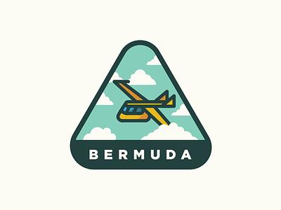 Bermuda Triangle Club bermuda triangle air plane airplane airplanelogo cloud sky dailylogochallenge