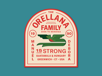 Orellana Family Patch