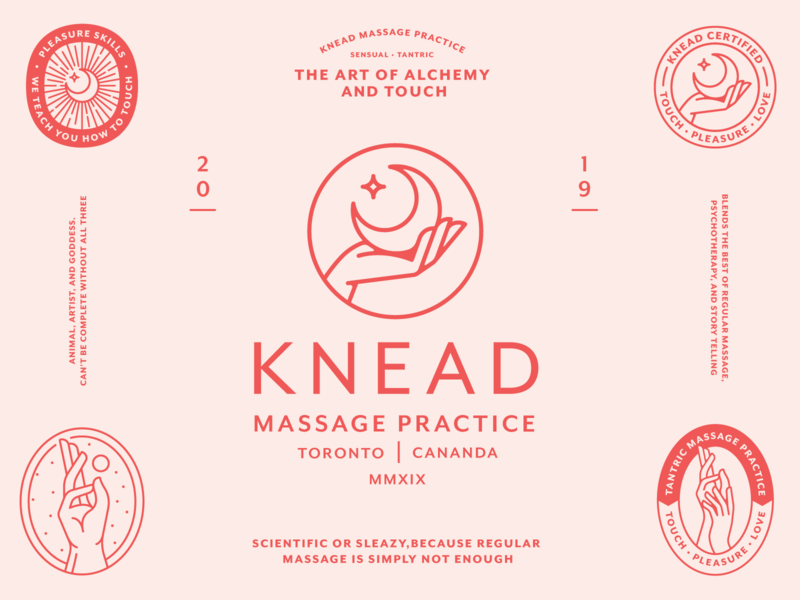 Knead Massage Practice (Part.2)