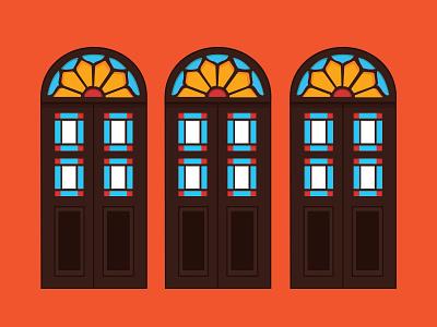 Doors of Iran  history persian door doorsofiran illustration graphicdesign kashan iran old door doors