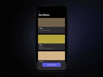 BrewTeaFul Dark Mode