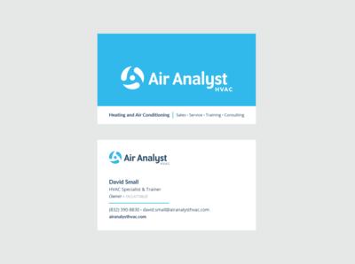 Air Analyst HVAC Business Cards