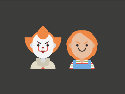 Pennywise and Chucky