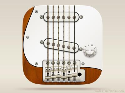 Guitar icon guitar fender stratocaster icon ios