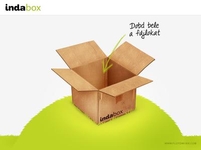 Online file storage site illustration