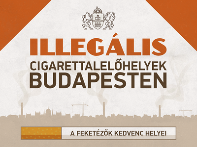 Places to find smuggled cigarettes in Budapest - infographic budapest hungary smuggle cigarette metro station a-team van duel truck herbie vw