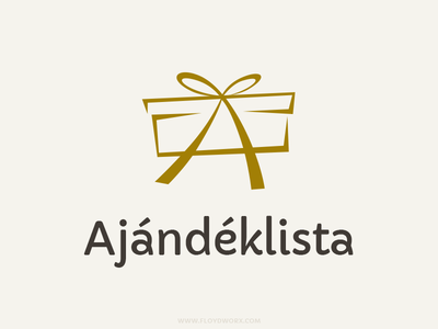 Logo for a social gifting site