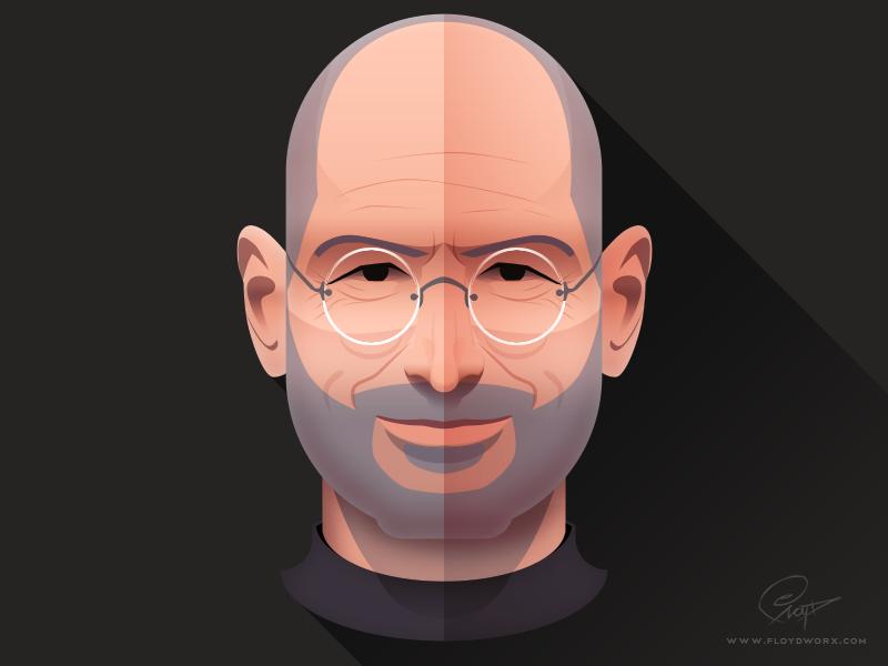 Steve Jobs Infographic Element By Csaba Gyulai Dribbble