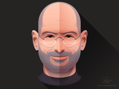 Steve Jobs - Infographic element