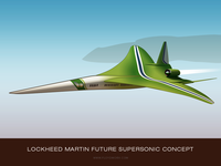 Future aircraft #2 - infographic element
