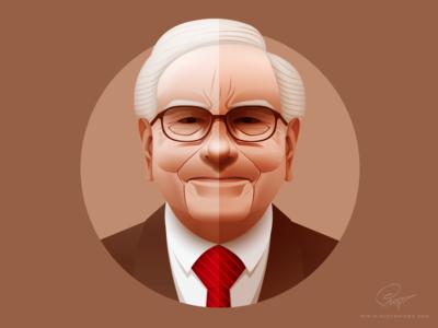 Warren Buffett - infographic element