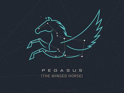 constellations pegasus by csaba gyulai dribbble. Black Bedroom Furniture Sets. Home Design Ideas