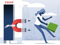 Customer Retention - infographic element
