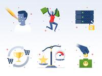 Icons #1 - infographic elements
