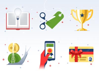 Icons #2 - infographic elements shopping illustration icon flat consumer