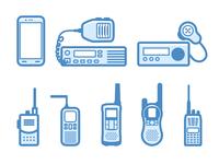 Communication  options - infographic element