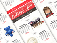 Vintage toys infographic