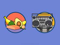 Icons - infographic elements