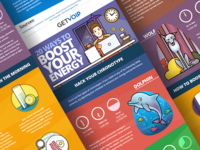 Boost Energy - infographic